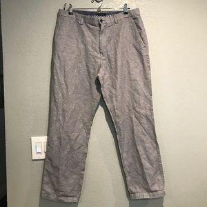Banana republic linen cotton kentfield pants